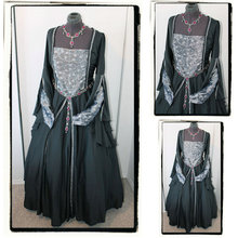 1860S Victorian Corset Gothic/Civil War Southern Belle Ball Gown Dress Halloween dresses  CUSTOM MADE R572