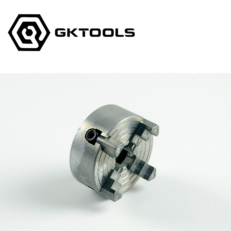 Four-Jaw Chuck,Clamping Diameter 1.8~56mm / 12~65mm,Speciel for the mini lathe, Z011A