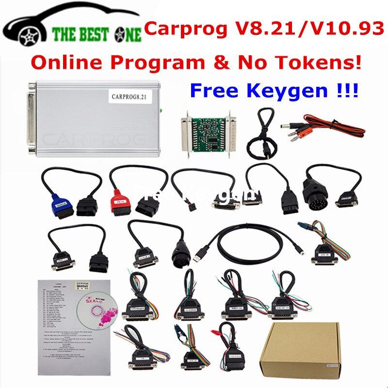 Free Keygen Online Carprog FW V821 V1093 Full Set Auto Repair Tool