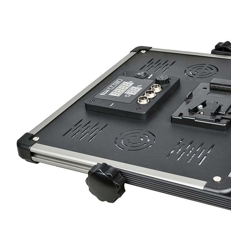 Yidoblo 1 pc LED 램프 스튜디오 조명 D-1080II 7000 루멘 - 카메라 및 사진 - 사진 2