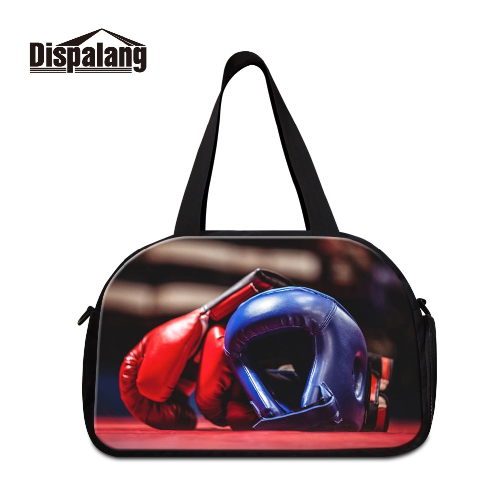 Dispalang Superb Quality Printing on Travel Totes for Men Out Door Professional Latest Shoulder Duffel Boys Multi Function Bags