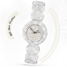 New Quartz Full Rhinestone Ladies List High-End Hot Custom Watch With Diamond Strap