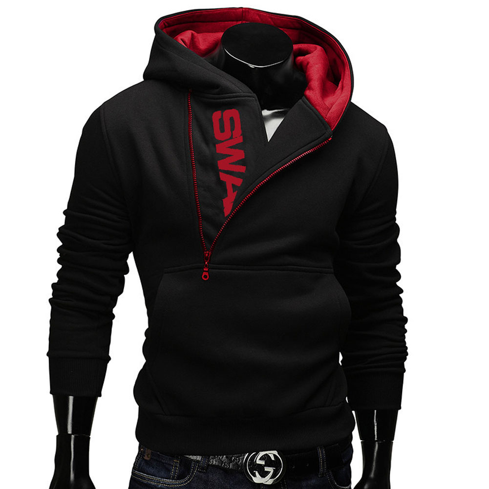 Fashion Men Jacket Plus Size Casual Long Sleeve Solid Color Tops Korean Trend Slim Hombre sweatshirt Zipper coat M-6XL LB