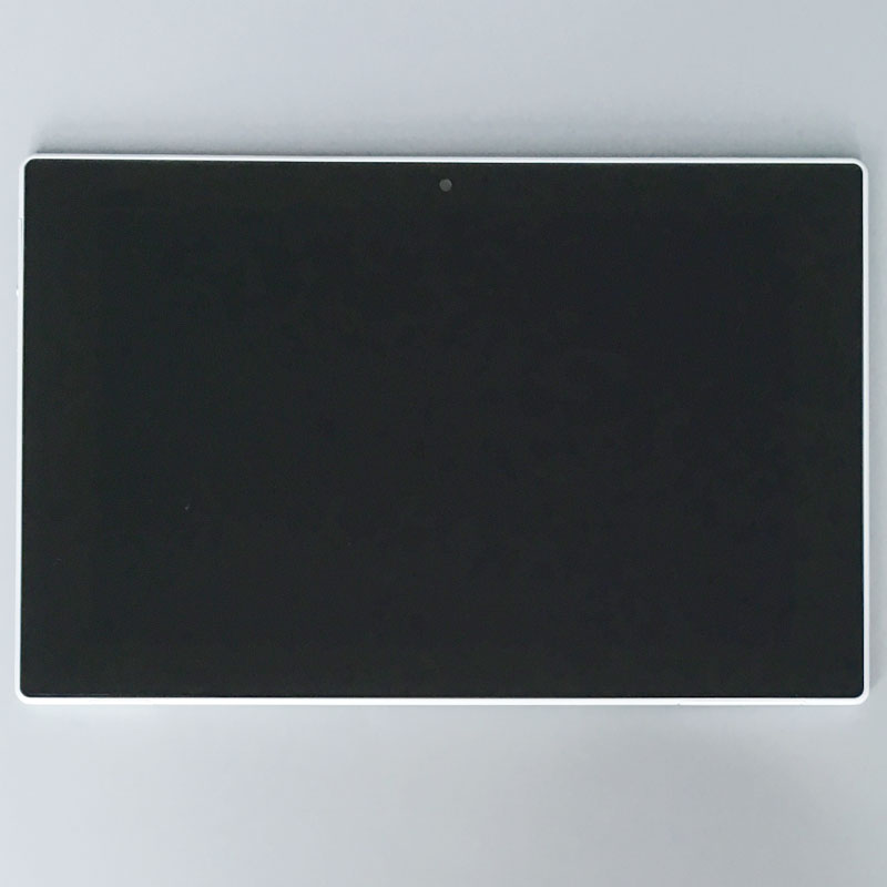 Подробнее о LCD Display Touch Digitizer screen Assembly+White Frame For Sony Xperia Tablet Z1 SGP311 SGP312 SGP321 10pcs lot aaa 5 black white lcd for sony xperia z1 l39h lcd display touch screen digitizer frame assembly l39 c6902 c6903 dhl