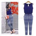 Rompers Womens Jumpsuit 2016 Slim Pants Bodysuit Sleeveless Plus Size Women Jumpsuits macacao feminino Sexy overall S M L XL 67
