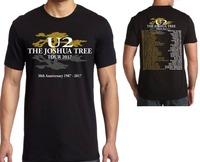 Rock Band T Shirt U2 The Joshua Tree 30th Anniversary 2017 World Tour T Shirt Top