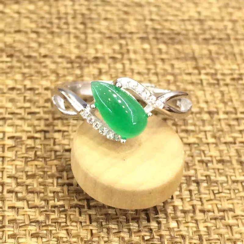 Limited Anillos Qi Xuan_Trendy Jewelry_Colombian Green Stone Fashion Rings_S925 Solid Silver Woman Rings_Factory Directly Sales Limited Anillos Qi Xuan_Trendy Jewelry_Colombian Green Stone Fashion Rings_S925 Solid Silver Woman Rings_Factory Directly Sales