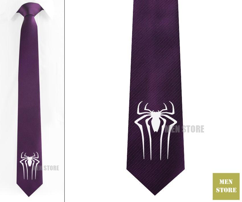 Aliexpress Buy The Amazing Spiderman Symbol Men Jacquard Woven