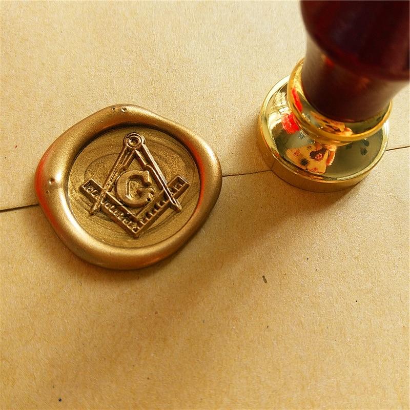 A Money Bar Masonic Gold-tone Square and Compass Mason Freemason Money Clip