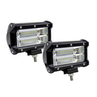 5INCH 72W LED WORK LIGHT BAR FLOOD LIGHT 12V 24V CAR TRUCK SUV BOAT ATV 4X4