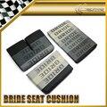 Автомобиль свинарник ультра-лин универсальный подходит для любого дрейфа ралли выпускные черный цвет невесты подушки сиденья 3 шт. для макс