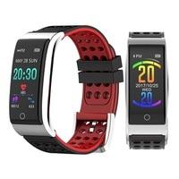 ONEVAN E08 Plus Smart Band Heart Rate Tracker ECG/PPG Blood Pressure Fitness Tracker Smart Bracelet IP67 Waterproof Smartwatch