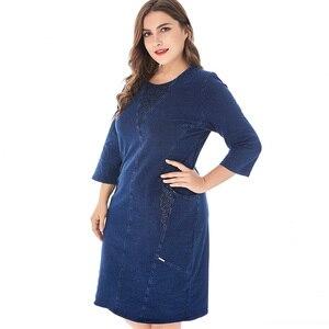 Image 4 - Платье Miaoke женское джинсовое