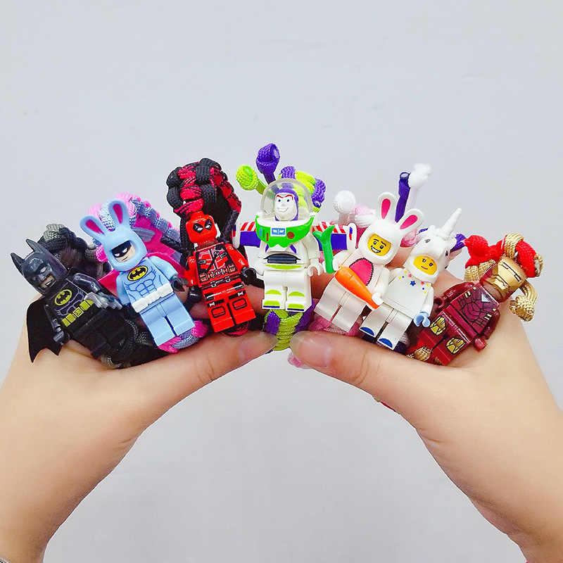 Игрушка история Buzzs Лайтер браслет фигура супергероя строительные блоки кирпичи игрушки LegoING Marvel Мстители Dragon Ball Block