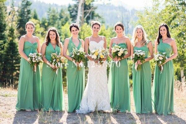 2015 Spring Garden Wedding Party Dresses Vestidos De Festa Long ...