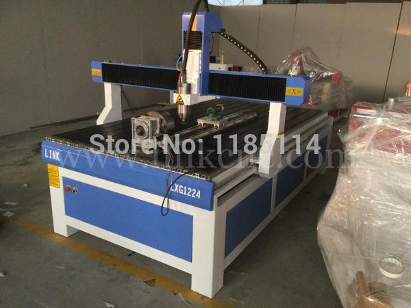Us 4550 0 Lastest Products Jinan Link 1224 Best Buy Woodworking Cnc Router Price Cnc Router 1224 With Rotary Device In Wood Routers From Tools On