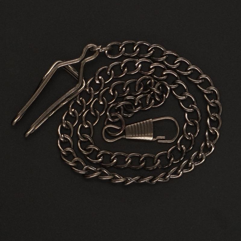 Mens Black Gear Hollow Mechanische Zakhorloges FOB Chain Geschenkdoos - Zakhorloge - Foto 6