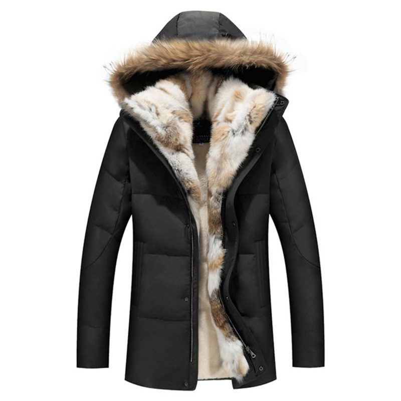Down     Coat   Real Fur Collar Parka Winter Jacket Women White Duck   Down   2017 Plus Size 5xl Women Winter Jackets Snow Classic RE0109