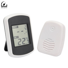 Buy online Digital LCD Display Wireless Thermometer Electronic Temperature Meter Weather Station Indoor Outdoor Tester