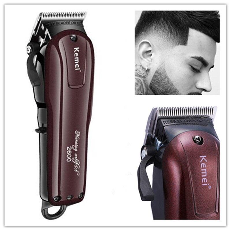 Kemei tondeuse cheveux tondeuse à barbe trimère Coupe coupe de Cheveux machine à Cheveux électrique machine de coupe tondeuse cheveux professionnel 5