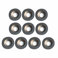 10pcs 5 8 Inch 16mm Diameter Round Carbide Inserts Milling Cutter For Wood Turning Tools