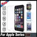 Protector de pantalla de cristal templado película protectora para apple iphone 7 6 6 s plus 5c 5S sí 4S ipod touch 6 5 4 nano 7 reloj 38mm 42mm