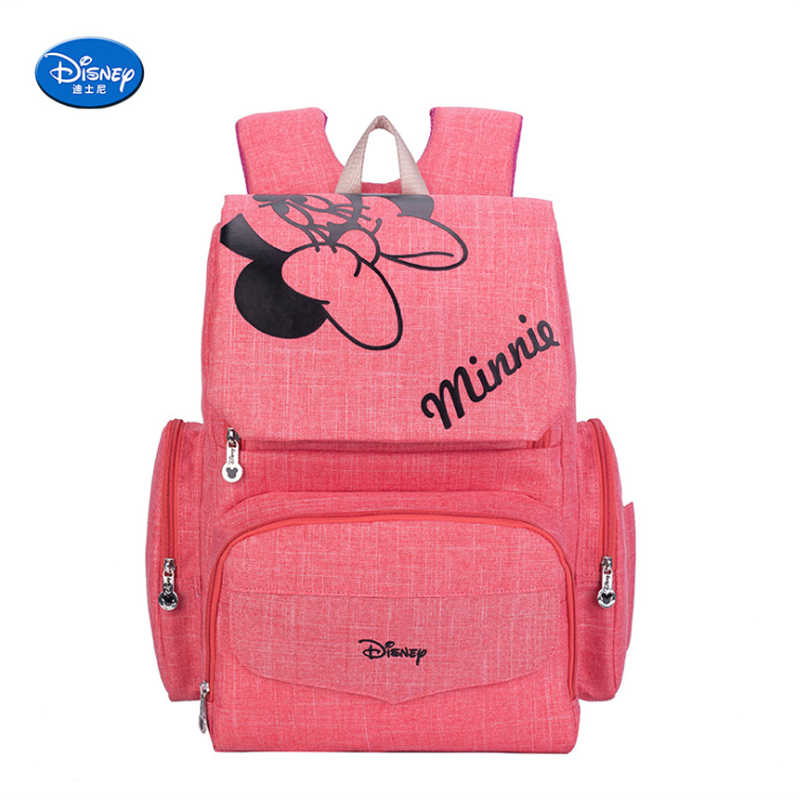 8ee8006e1a Disney Mickey Mouse Baby Diaper bag Maternity Nappy Bag Backpack Large  Nursing Stroller Bags for Mom