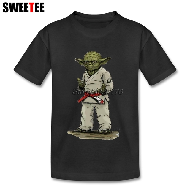 Aktualne Judo Yoda Star Wars Dzieci T Koszula Niemowląt 100% Bawełna OC57