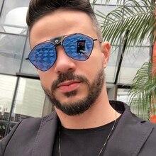 PAWXFB BRAND DESIGN Fashion Polarized Sunglasses Men Luxury Vintage Driving Pilot Polygon Sun Glasses Male Goggles Shades UV400