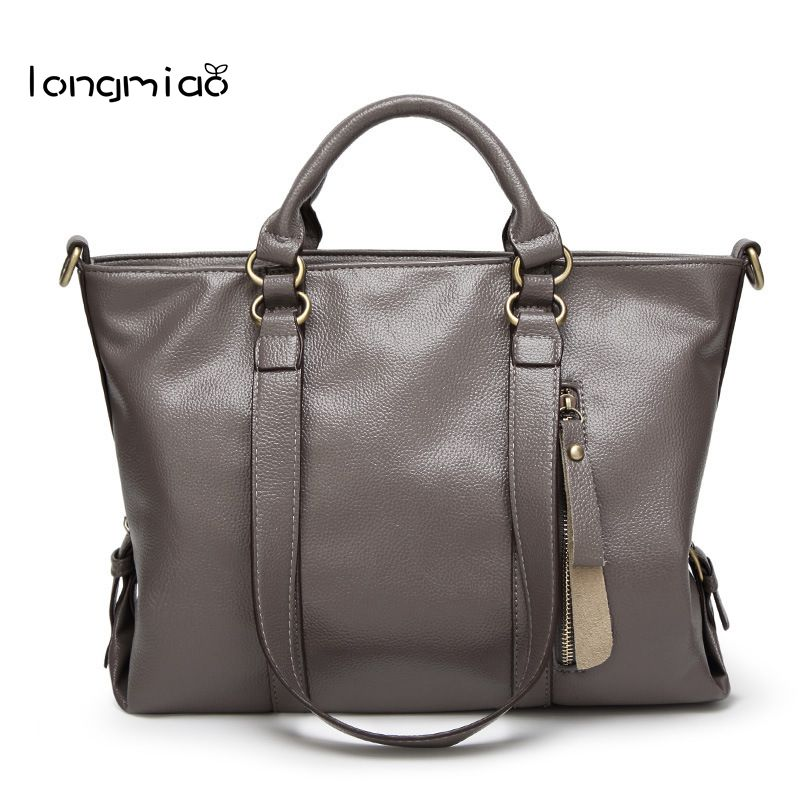 longmiao 2017 Famous Designer Brand Women Messenger Bags Leather Handbags High Quality Bolsos Sac a Main Femme de Marque 2018 new crocodile pattern women messenger bags handbags women famous brands clutch bag bolsa sac a main femme de marque celebre