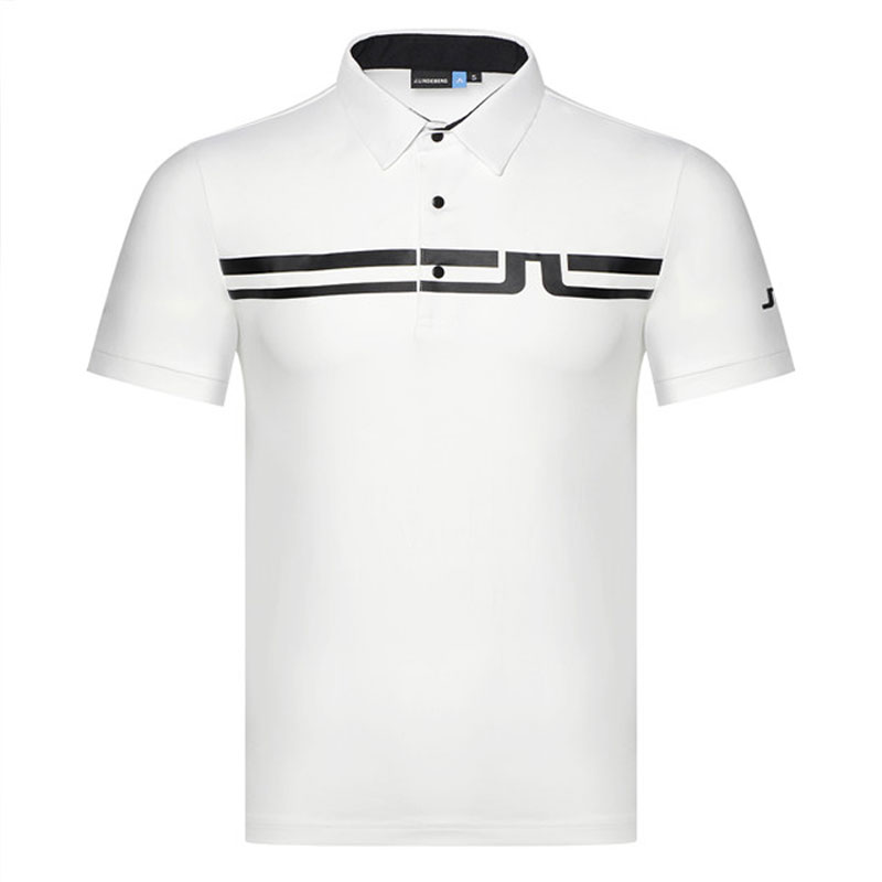 52d022a4 Cooyute 4 colors Men Sportswear Golf clothes Short sleeve JL Golf T-shirt