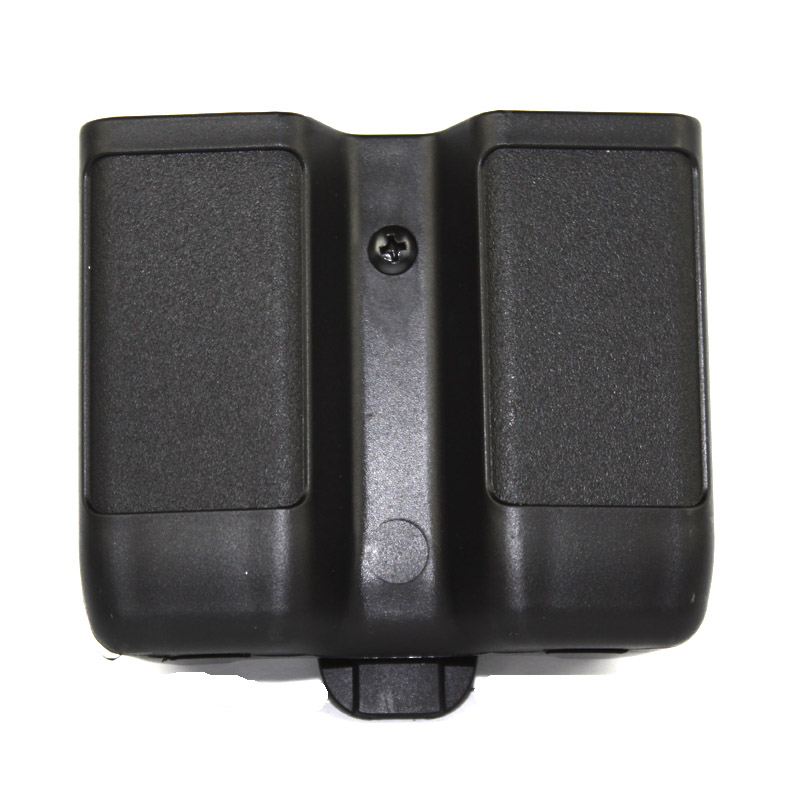 Double Magazine Pouch Case Stack Universal Pistol Cartridge Clip Holder Duty Belt Mag  For 1911 M92 P226 Glock USP Free Shipping