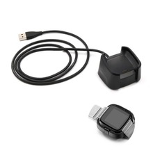 Charging Cradle Dock USB Data Cable Base Desktop Charger For Fitbit Versa Watch