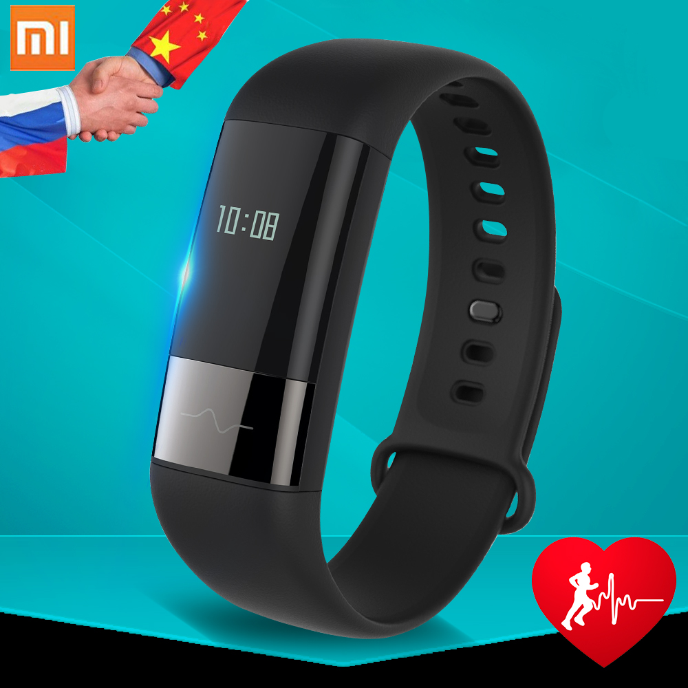Original Xiaomi Huami Amazfit Health Band ECG Smart Bracelet OLED Touch Screen Real time Heart rate Monitor Amazfit Health Band-in Smart Watches from Consumer Electronics    1