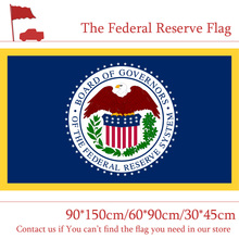 3x5ft Flag Of The Federal Reserve System United States American U.S. 90*150cm 60*90cm 30*45cm Car For Decoration