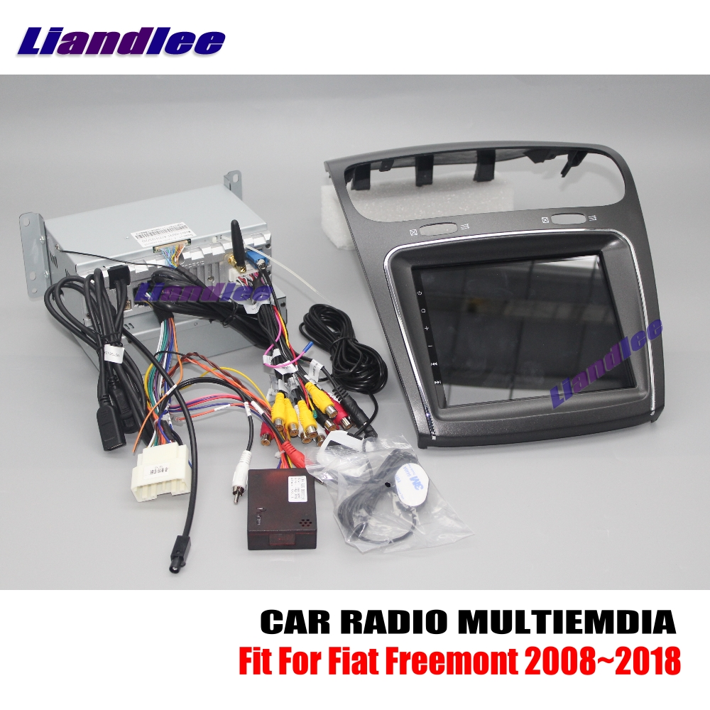 Liandlee For Fiat Freemont 2008~2018 Android Car Radio CD DVD Player GPS Navi Navigation Maps Camera OBD TV Screen Multimedia liandlee for ford edge 2011 2014 wince car radio cd dvd player gps navi navigation maps camera obd tv screen multimedia