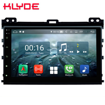"9"" IPS Octa Core 4G Android 8.1 4GB RAM 64GB ROM Car DVD Multimedia Player Stereo For Toyota Land Cruiser Prado LC120 2004-2010"