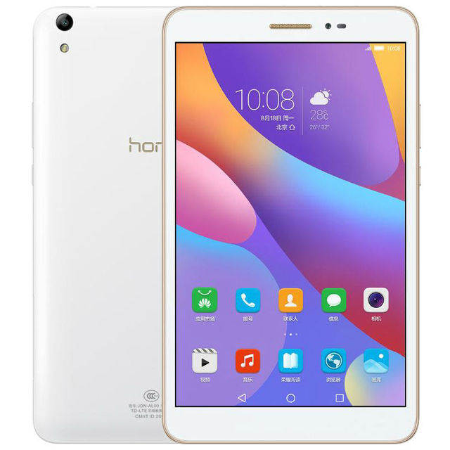 Original Huawei Honor Tablet 2 WiFi 3GB RAM 16GB ROM Android PC 8.0 inch 1920*1200 Snapdragon 616 Octa Core 8.0MP
