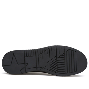 Image 3 - סניקרס גברים נעליים יומיומיות אמיתי עור מבטא אירי נעלי mens מעצב מוצק קלאסי אופנה זכר תחרה עד דירות שחור 36 46