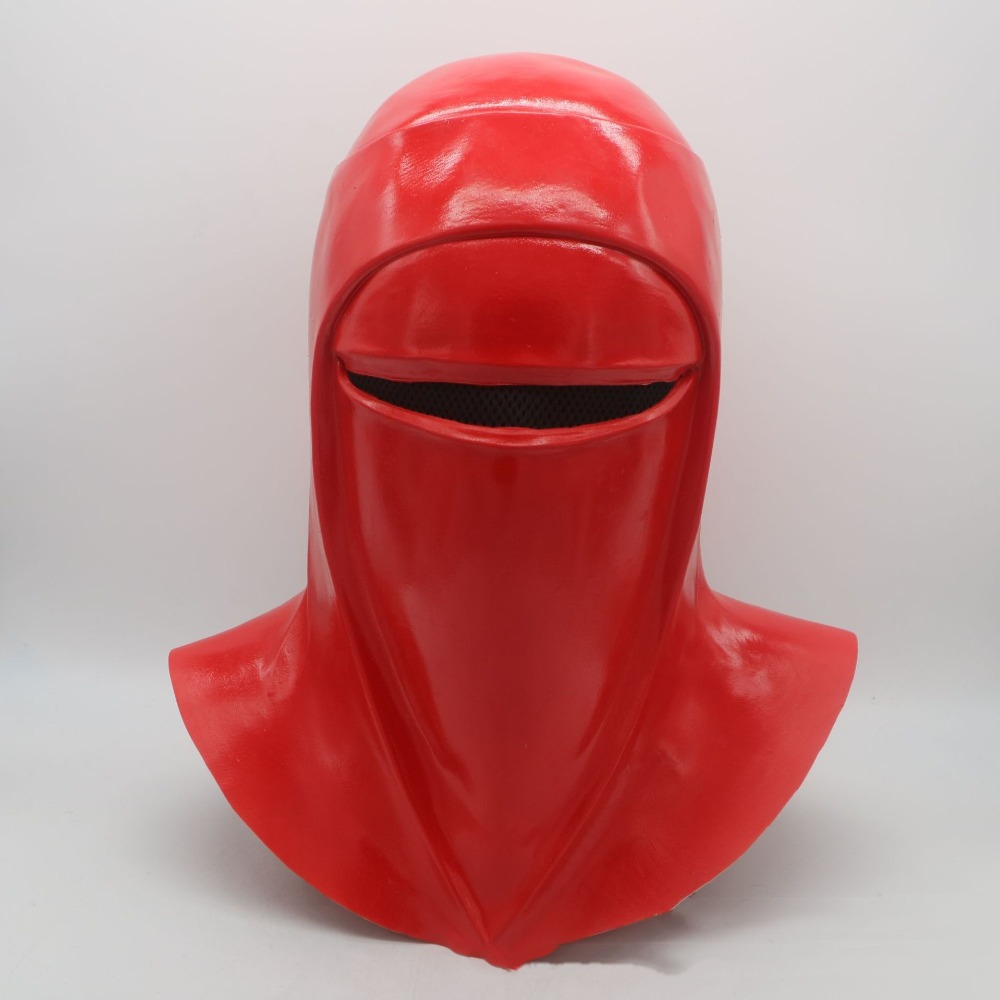 Star Wars Emperor's Royal Guard Halloween Cosplay Latex Mask Costume Party Entertainment Cool Play Prop Drop Ship