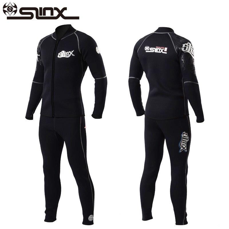 Slinx hommes femmes 3mm néoprène Long pantalon combinaison cerf-volant surf planche à voile maillots de bain bateau plongée sous-marine costume - 6