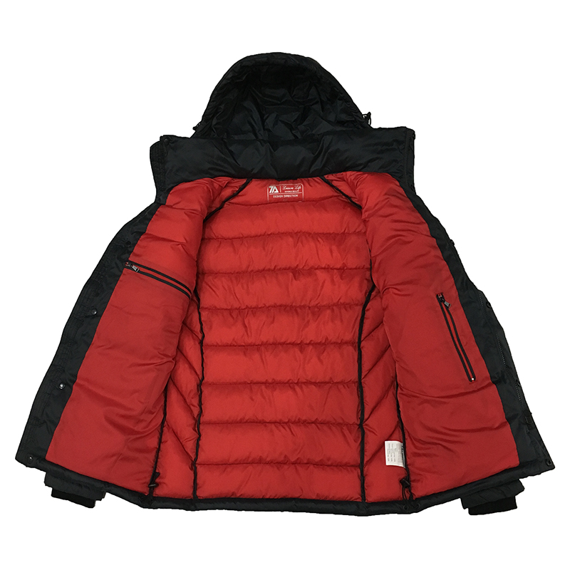 09aecb995 US $75.19 53% OFF|2019 New Winter Jacket Men Polyester Padded Jackets  Puffer Jacket Bio based Cotton Hooded Warm Winter Coat Men Russian Size-in  ...