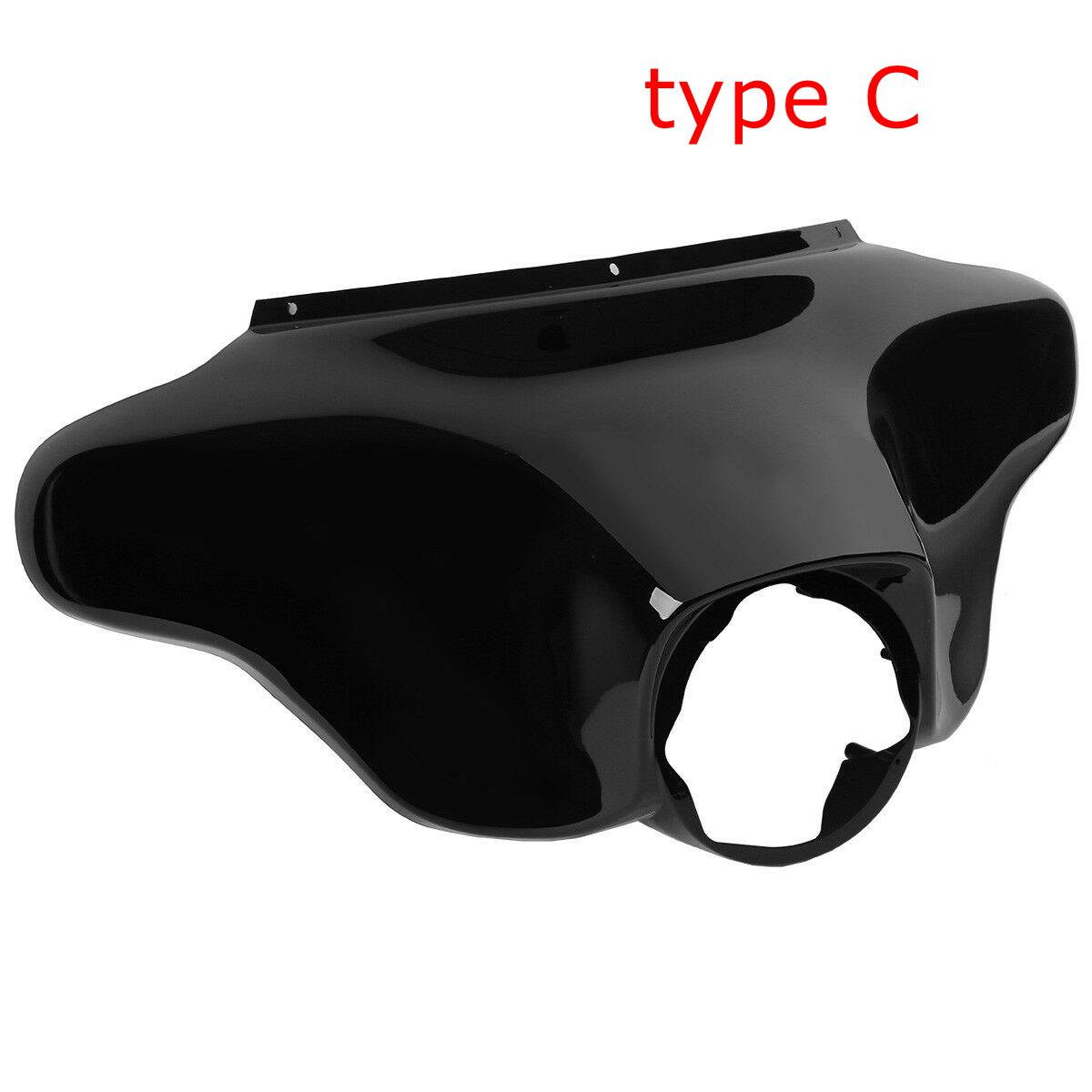 TCMT Outer Batwing Fairing 8 Smoke Windshield Windshield Fit For Harley Touring Street Glide 96-13