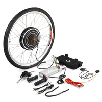 New 1000W 48V Professional Electric Bicycles E Bike 26inch Rear Wheel Conversion Kit Cycling Brushless Motor Best Replacement