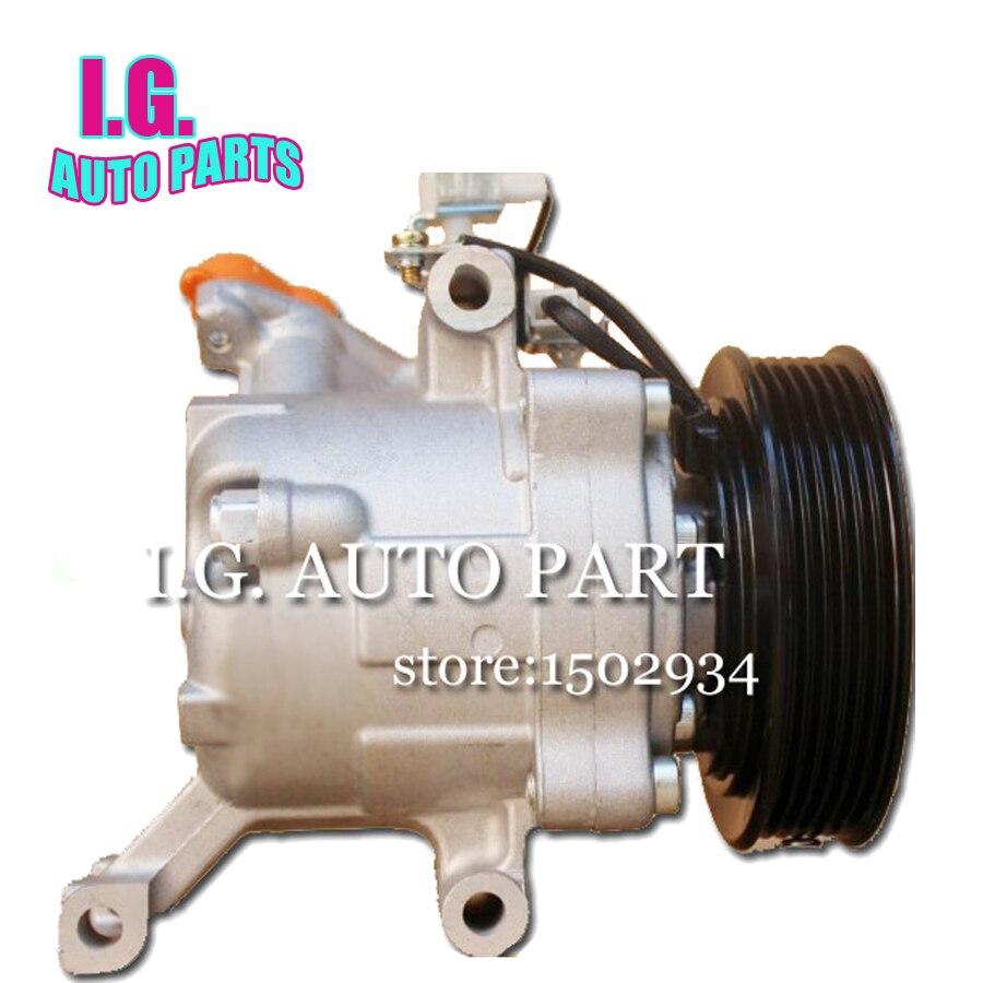 Rush Suzuki Jimny 2006-2010 4472803150 88320b1020 4472605820 Daihatsu Terios Car Auto Ac Compressor For Car Toyota Passo