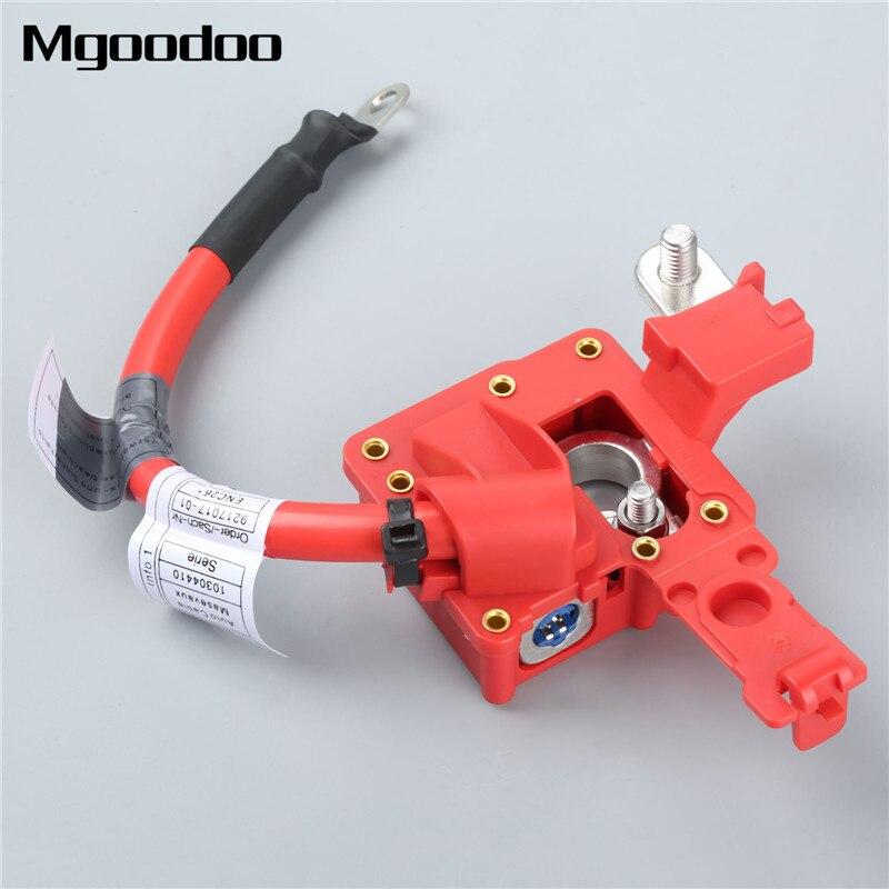 Mgoodoo Batterie De Voiture Câble Pôle Positif Positif 9217017 61129217017 Pour BMW 1-série E81 E87 LCI