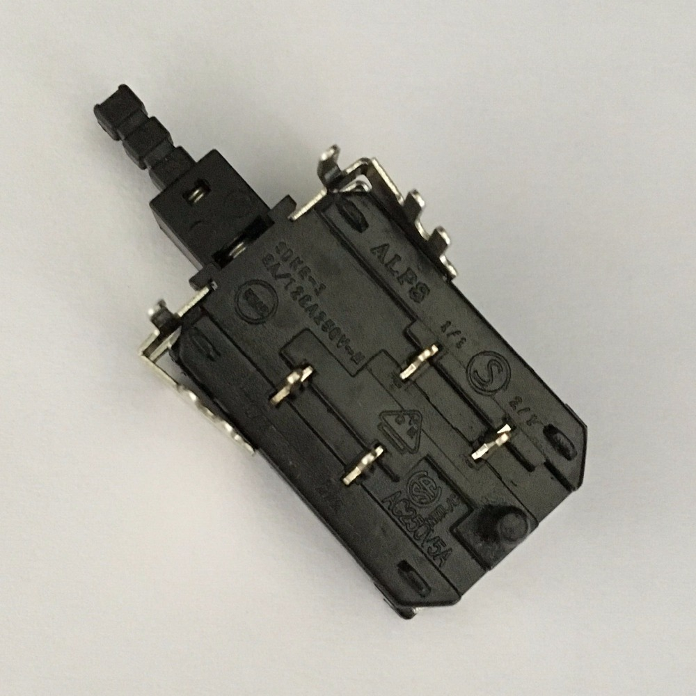 Maintained AC 250V 5A Double Pole Single Throw Power Switch KDC A10 ...