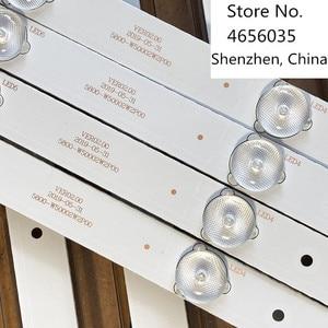 Image 4 - 12PCS Led hintergrundbeleuchtung streifen 6 lampe Für 50E5DHR 50X5 50E3500 50E6100 Licht Bar 5800 W50002 2P00 5800 W50002 0P00 bildschirm RDL500WY