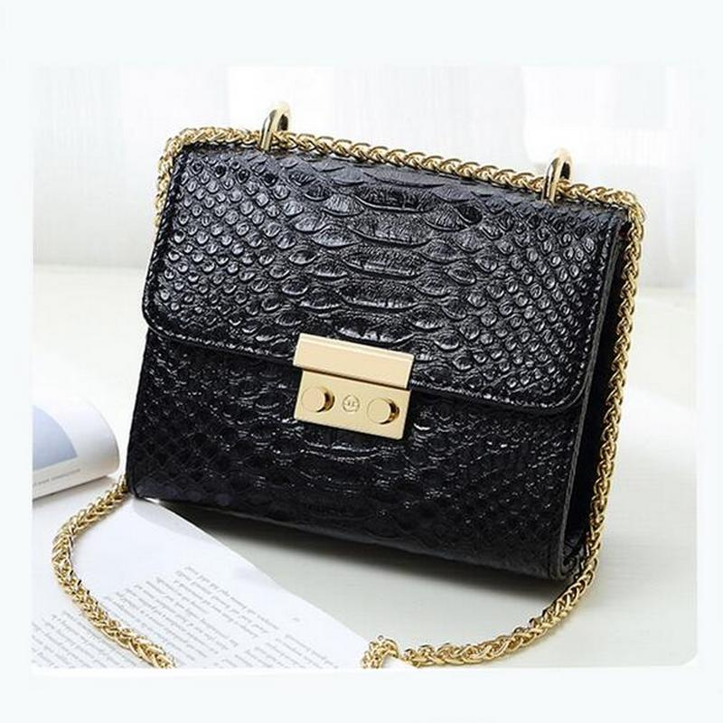 Candy Color Alligator Crocodile Handbags Small Mini Women Evening Clutch Ladies Mobile Purse Crossbody Shoulder Messenger Bags