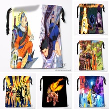 Custom Naruto Drawstring Bags Printing Travel Storage Mini Pouch Swim Hiking Toy Bag Size 18x22cm#180412-11-23
